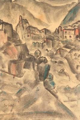 (2) Leo Gestel (Dutch, 1881-19