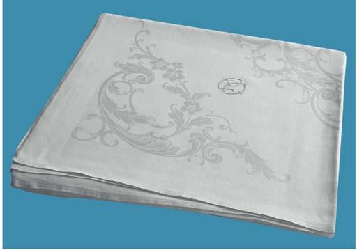 A fine damask linnen tableclot