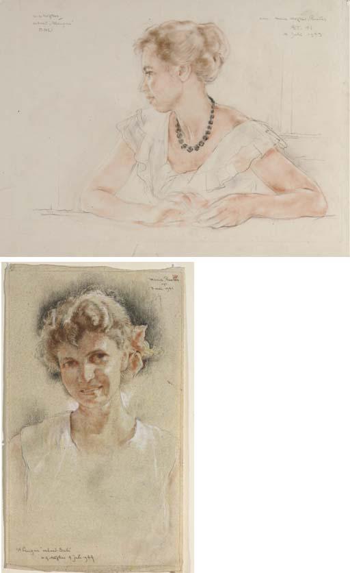 (2) Willem Hofker (Dutch, 1902