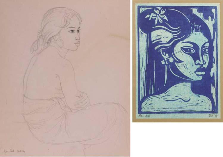 (2) Han Snel (Dutch, b. 1925)
