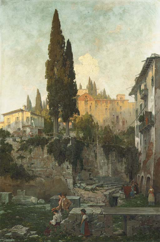 Theodor Groll (German, 1857-19