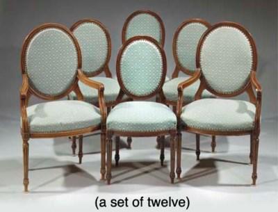 (24)  A set of twelve Dutch st