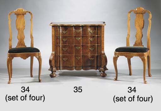 (4)  A set of four Dutch elm s