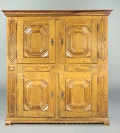 A German oak cupboard