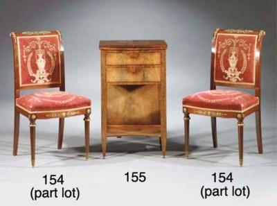 (3) A pair of gilt-metal mount