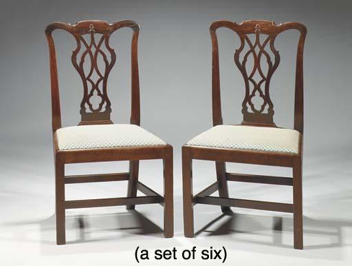 (6)  A set of six George III m