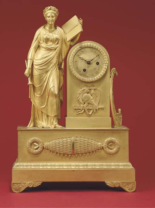 A Louis Philippe ormolu figura