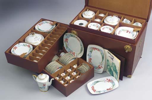 (145)A Schirnding porcelain Sa