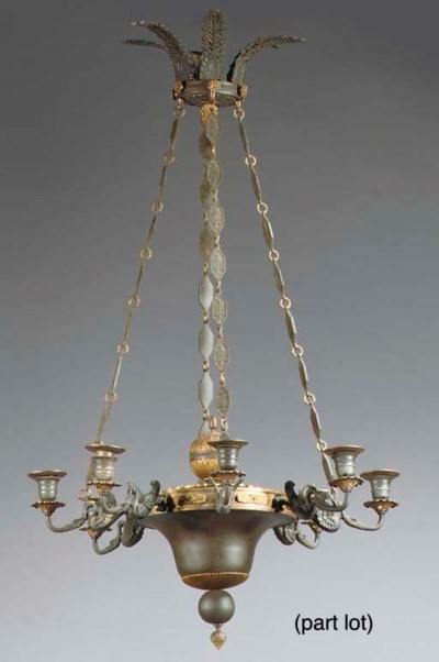 (3)   A gilt and patinated-met