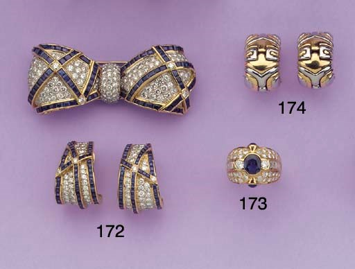 (3)  A DIAMOND AND SAPPHIRE BR