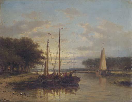 Abraham Hulk (Dutch, 1813-1897