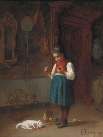 Jean-Paul Haag (French, 1854-1