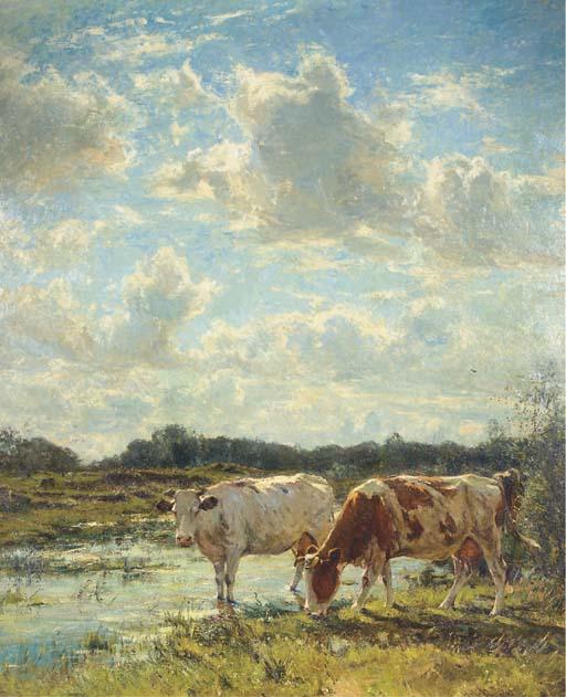 Franz Courtens (Belgian, 1850-
