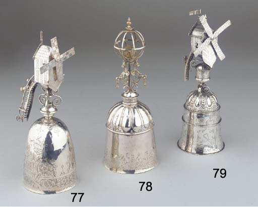 A silver windmill-cup