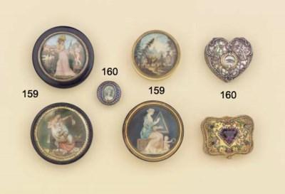 (4) Four circular snuff-boxes