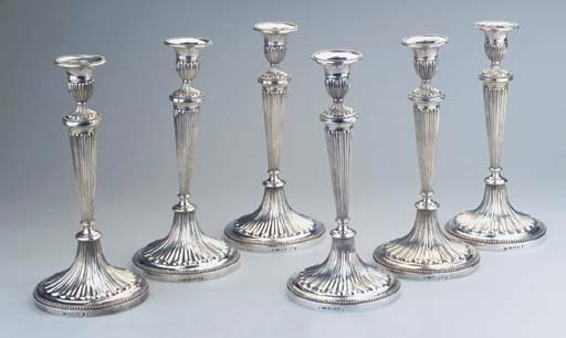 (6)  A fine set of six Dutch s