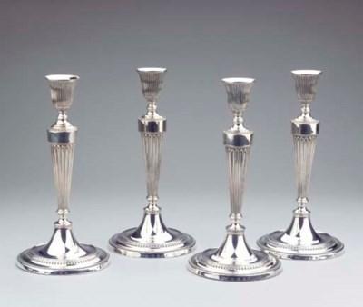 (4)  A set of four George III