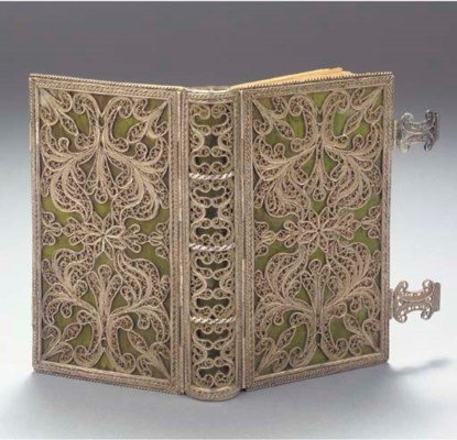 A FINE DUTCH SILVER FILIGREE B