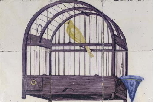A Rotterdam canary cage tile p