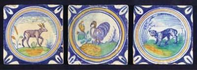 (3)  A set of three Dutch poly