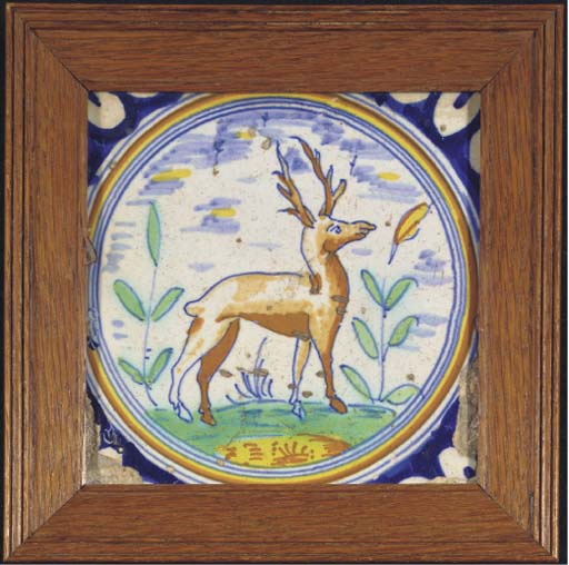 A Rotterdam polychrome animal