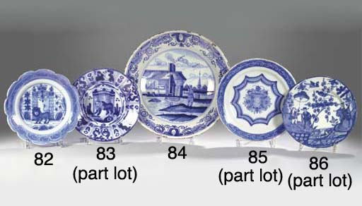 (9)  A series of nine Dutch De