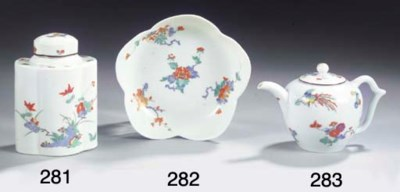 (2) A Meissen porcelain 'Kakie