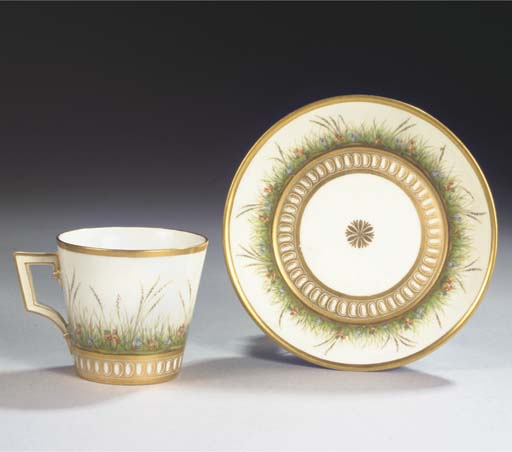 (2)  A Berlin KPM porcelain co