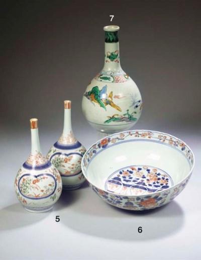 A rare Imari bowl