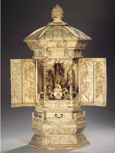 An ivory shrine