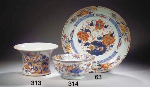 A large Chinese Imari charger