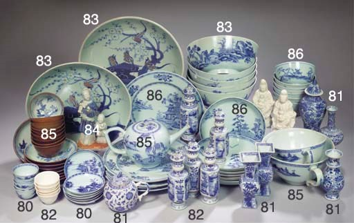 An assorted lot of 'Nanking Ca