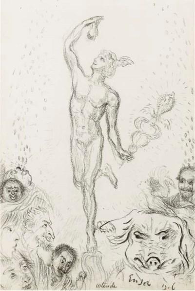 James Ensor (Belgian, 1860-194