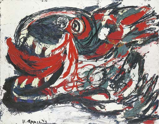 Karel Appel (Dutch, b. 1921)