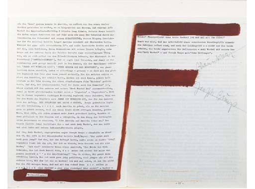 Joseph Beuys (German, 1921-198