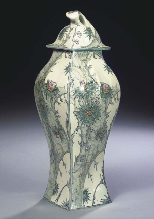 A LARGE EGG-SHELL PORCELAIN VA