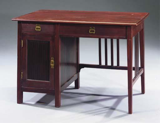 Nr. 23056/21N, a mahogany desk