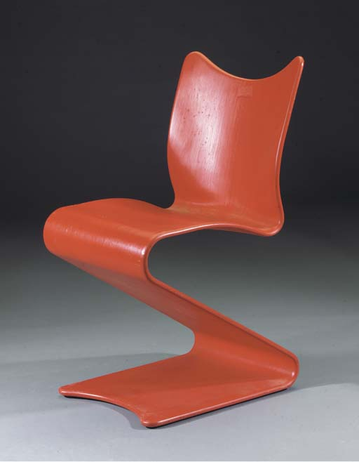 No. 275, a red lacquered wood