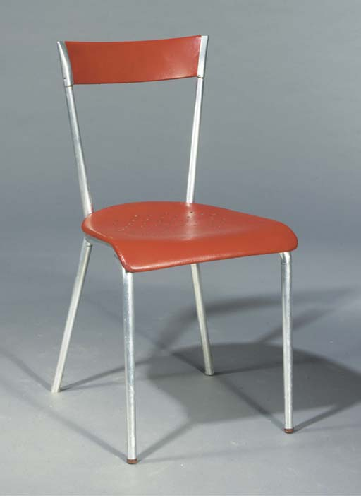 An aluminium sidechair