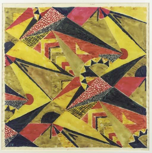 A textile design