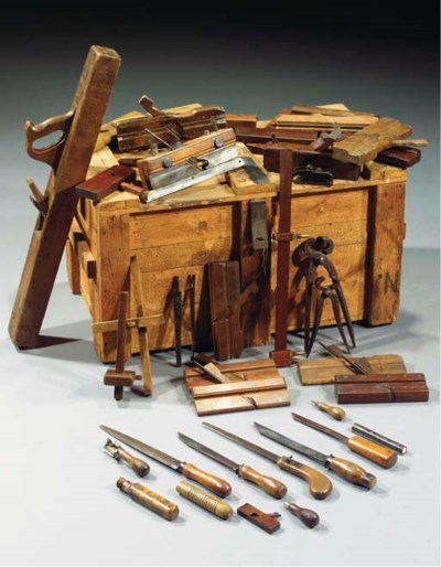 Rietveld's carpenter's tools