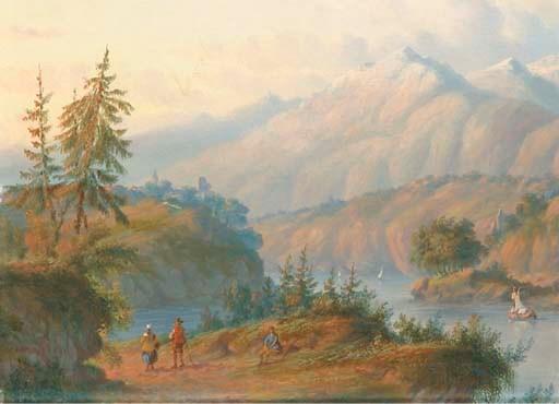 Carl Eduard Ahrendts (Dutch, 1