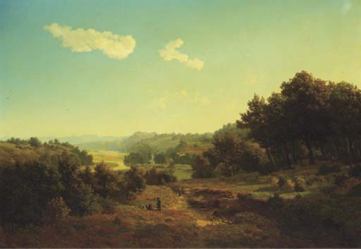 August Lüttmann (German, 1830-