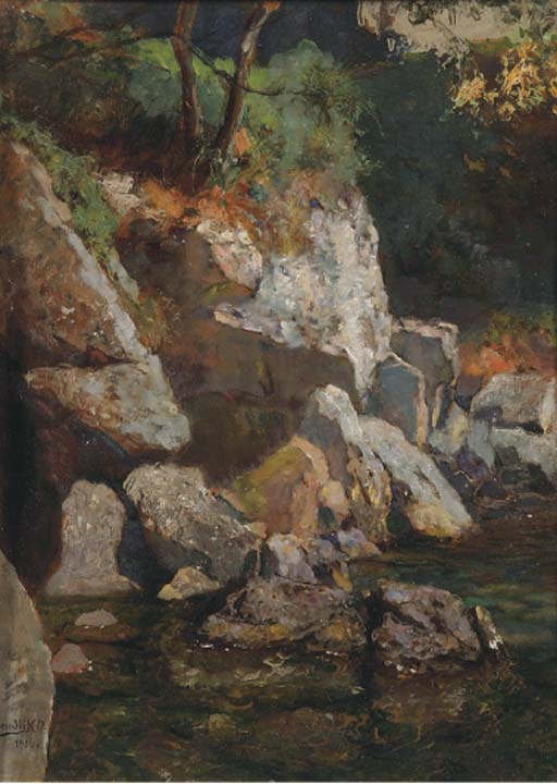 Oscar Mendlik (Dutch, 1871-196