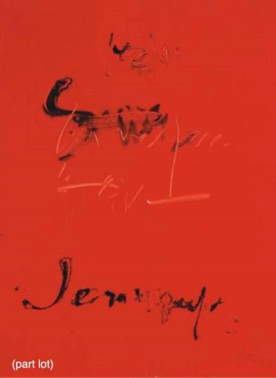 (3) Jean Degottex (French, 191