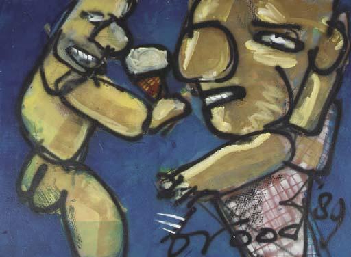 Herman Brood (Dutch, 1946-2001