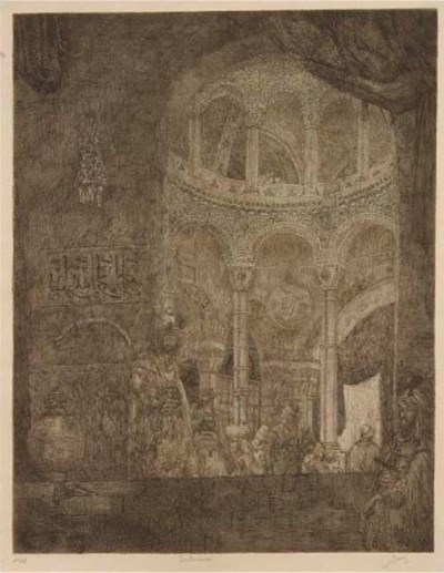 (3) Marius Bauer (Dutch, 1867-