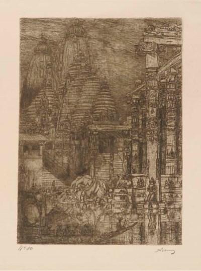 (6)  Marius Bauer (Dutch, 1867