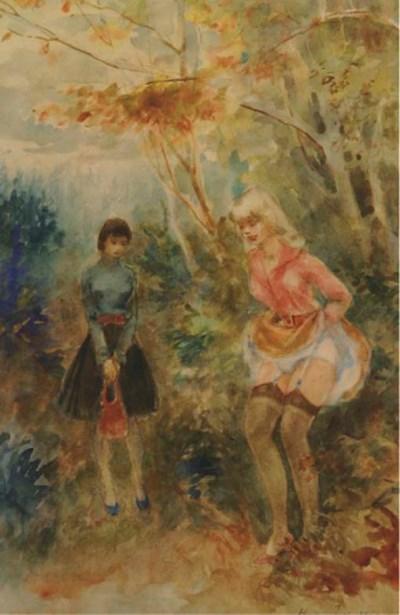 (2) Harry Maas (Dutch, 1906-19