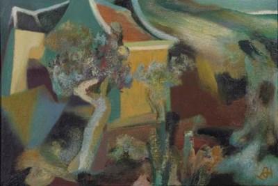 (4)  Dolf Henkes (Dutch, 1903-